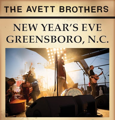 The Avett Brothers Returning To Greensboro On New Year S Eve Greensboro Coliseum Complex