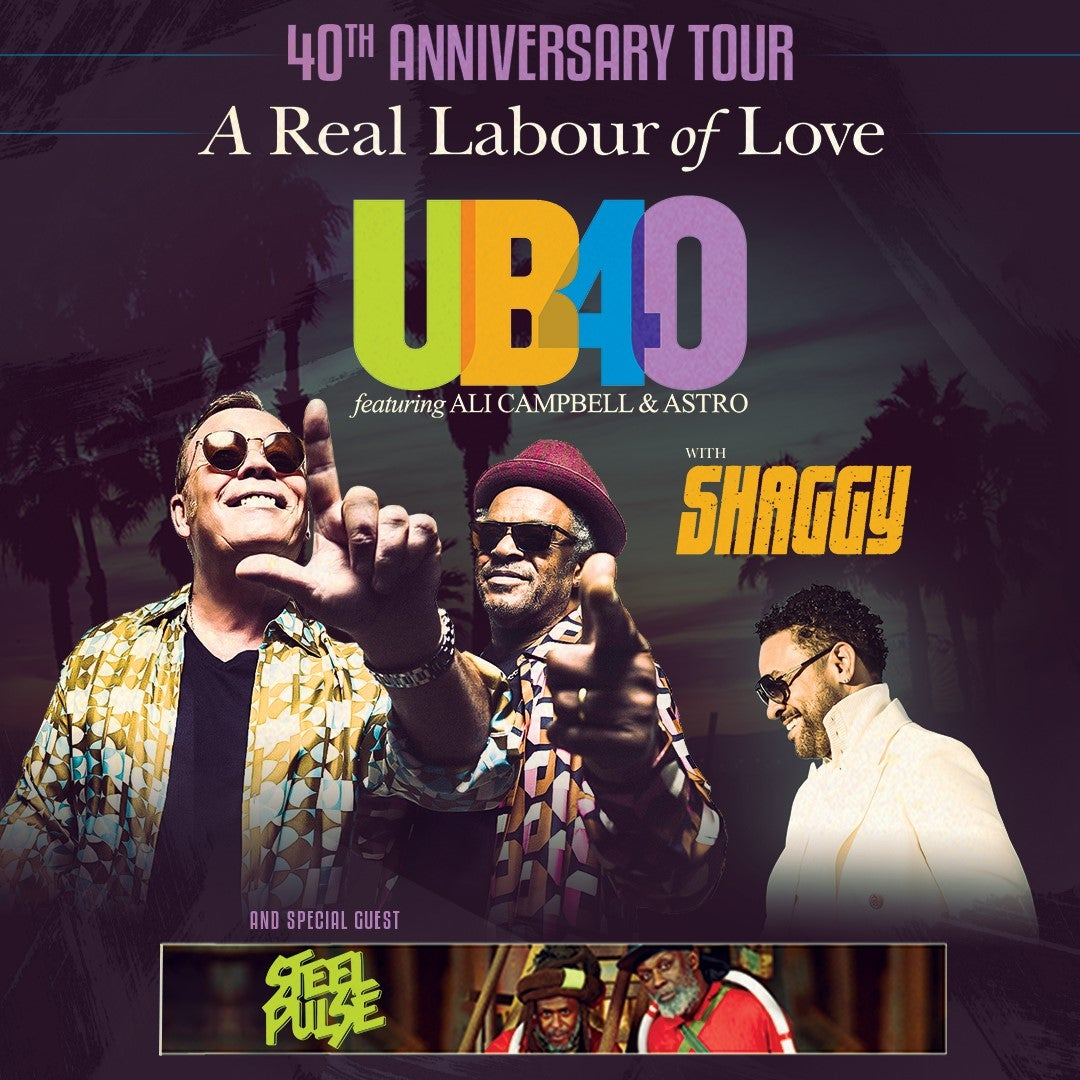 UB40 Featuring Ali Campbell and Astro | Greensboro Coliseum